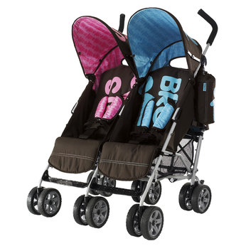 Yaz very own Strollers Safe Haven: Twin Stroller for a Girl & a Boy!!!